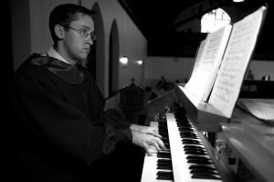 Our Organist, Harold Walbert